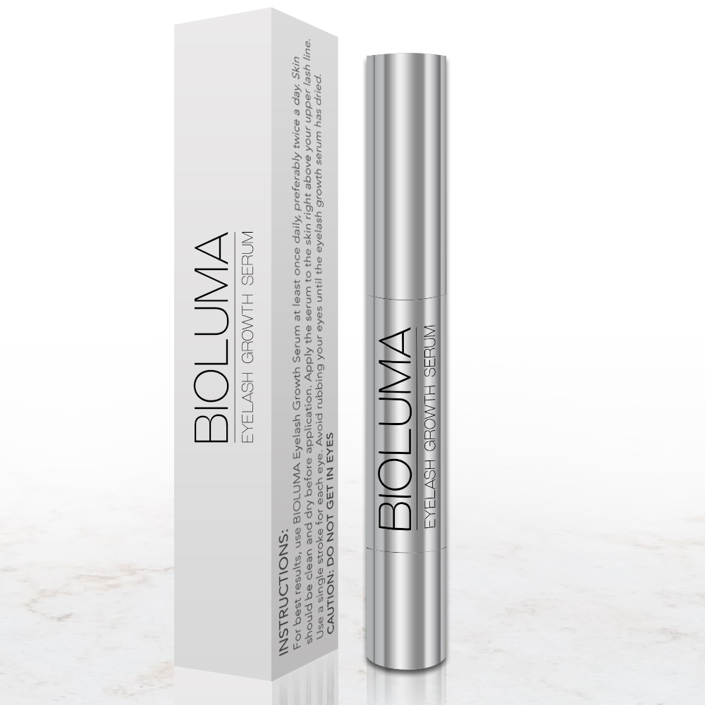 BIOLUMA- Natural Eyelash growth enhancing Serum Bottles
