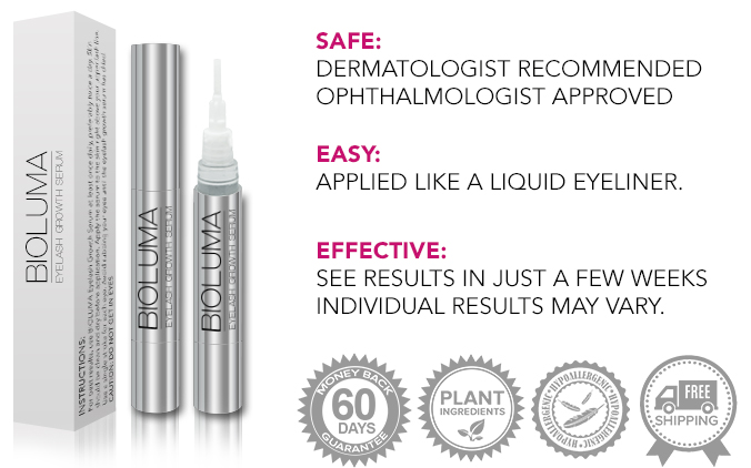 BIOLUMA - Most Comprehensive Eyelash Growth Treatment